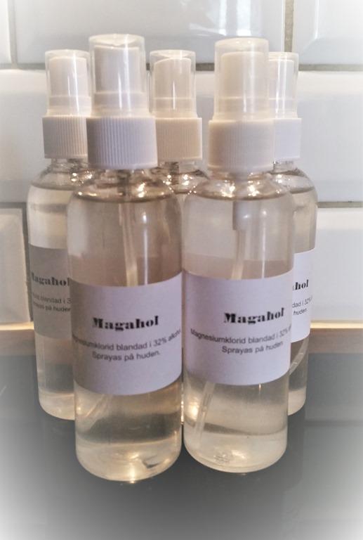 göra egen magnesiumspray